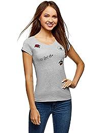 2803304b7a36d Suchergebnis auf Amazon.de für: shirt mit applikation - Tops, T ...