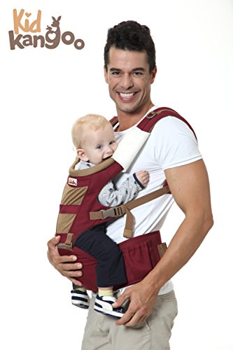 Zaino marsupio ergonomico per trasportare a tu bebé – Marsupio comodo Realizzato con materiali di alta qualità – Zaino Regolabile al formato di tu bebé