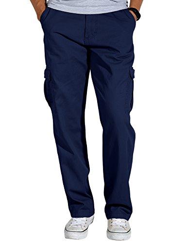 Match Herren Cargo hose#3357(6039 Blau,34W x Regular (DE 44))