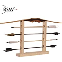 Bogenschiessen Bow Kick Stand Halter Beine fuer 3D schiessen Jagd Range Schwarz