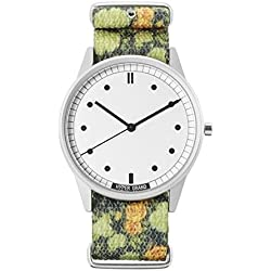 HyperGrand Unisex NW01GASK Garden Skirmish Watch with Nato Strap