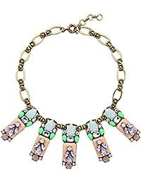 e95c1d7a4b8c XMDNYE Bisutería para Mujer declaración Vintage Collar Moda geométrica  Indio Chunky Collar ...