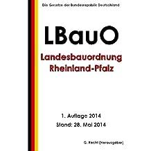 Suchergebnis Auf Amazon De Fur Landesbauordnung Rheinland Pfalz Bucher