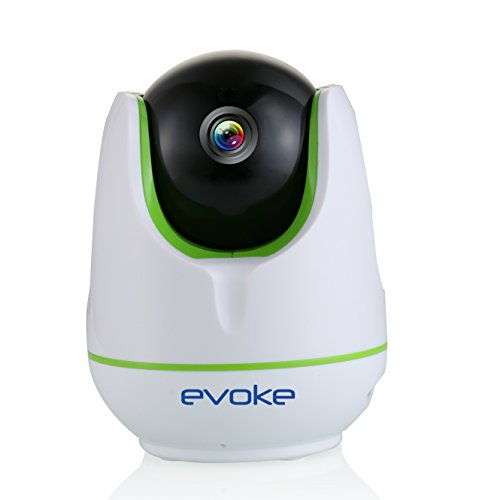 Evoke CCTV Camera With Audio Video Recording,Wireless and lan, Pan tilt zoom,Easy plug & play