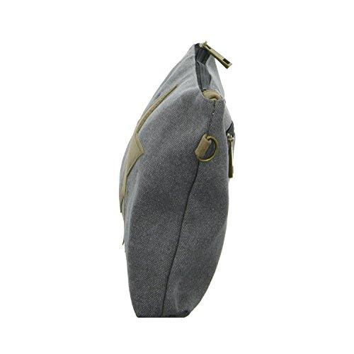 Gioielli Di Stile 16001 Ngg16001 Borsa Da Donna Con Cerniera Grigia (grigio)