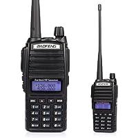 Baofeng 82L Dual Band UHF/VHF 137174/400–520MHz FM Ham radio ricetrasmettitore portatile due modo Ham Radio (108 Chiave Usb)