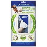 Artero Gants hygiéniques humides nettoyants pour Animaux domestiques
