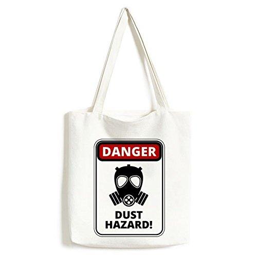 DIYthinker Maske Gefahr, Symbol, Luftverschmutzung Staub Hazard Gas Warnzeichen Illustration Haze PM2.5 Tasche Umwelt Tote große Kapazitäts ()