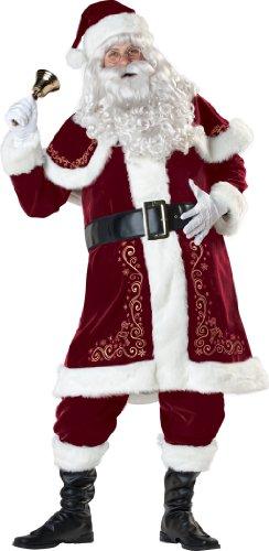 Nostalgischer Sankt Nikolaus Kostüm - Weihnachtsmann - (Santa Kostüme Claus Anzug)