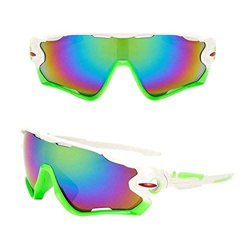 Gafas de Bicicleta/gafas de montar, ASHOP Gafas de sol de ciclismo Gafas de bicicleta Gafas de sol polarizadas (F)