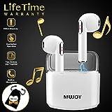 Bluetooth Kopfhörer in Ear mit Mikrofon,Wireless Kopfhörer,Drahtlose Kopfhörer Kabellos,Drahtlose Ohrhörer, Bluetooth Earbuds Wireless, Sport Ohrhörer für Ios iphone XR XS 8 7 Android Samsung s7 (TWS)