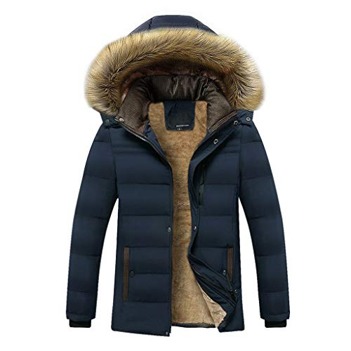 ODRD Clearance Sale [M-4XL] Herren Damen Pullover Männer Hoodie Verdickte Kaschmir Baumwolle Jacke Parka Pulli Sweatshirt Freizeit Sweatjacke Sweater Herbst Winter Mantel Daunenjacke Hooded Walking Kaschmir Herren Jacke