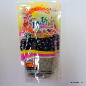 Tapioca Pearl 250 G , 8.8 oz. , Pack of 3 (Black)