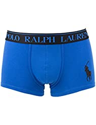 Polo Ralph Lauren Homme Classic Stretch Cotton Logo Trunks, Bleu