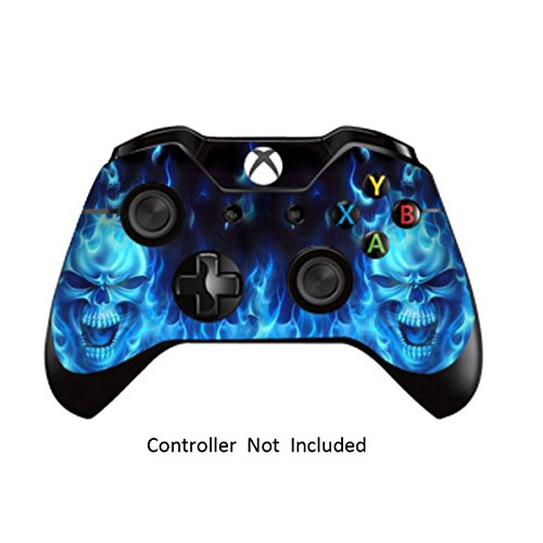 Game Xcel Xbox One High Gloss Controller Skin Custom Xbox 1 Remote Controller Vinyl Sticker Modded Xbox One Accessories Cover Decal Blue Deamon [ Controller Not Included ] 41akYNwNt6L