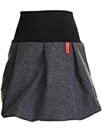 dunkle design Damen Rock Ballonrock Farbe Länge nach Wahl