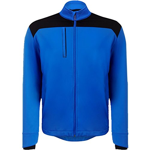 Callaway Golf 2015 Mens Softshell Wind Jacket CGKF50E7 - Palace Blue - S