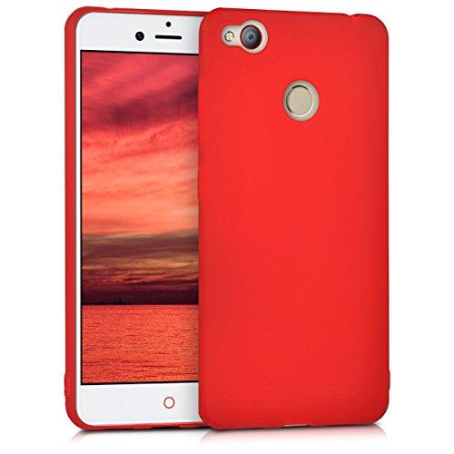 kwmobile ZTE Nubia Z11 Mini s Hülle - Handyhülle für ZTE Nubia Z11 Mini s - Handy Case in Rot matt