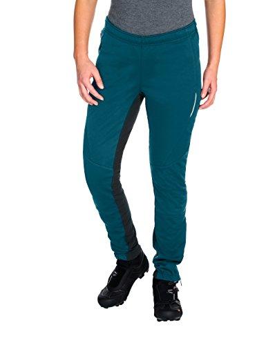 Vaude - Pantaloni softshell Wintry III, da donna blu zaffiro