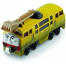 Mattel - Locomotora Thomas y sus amigos, Diesel 10, color amarillo (Mattel R8853)