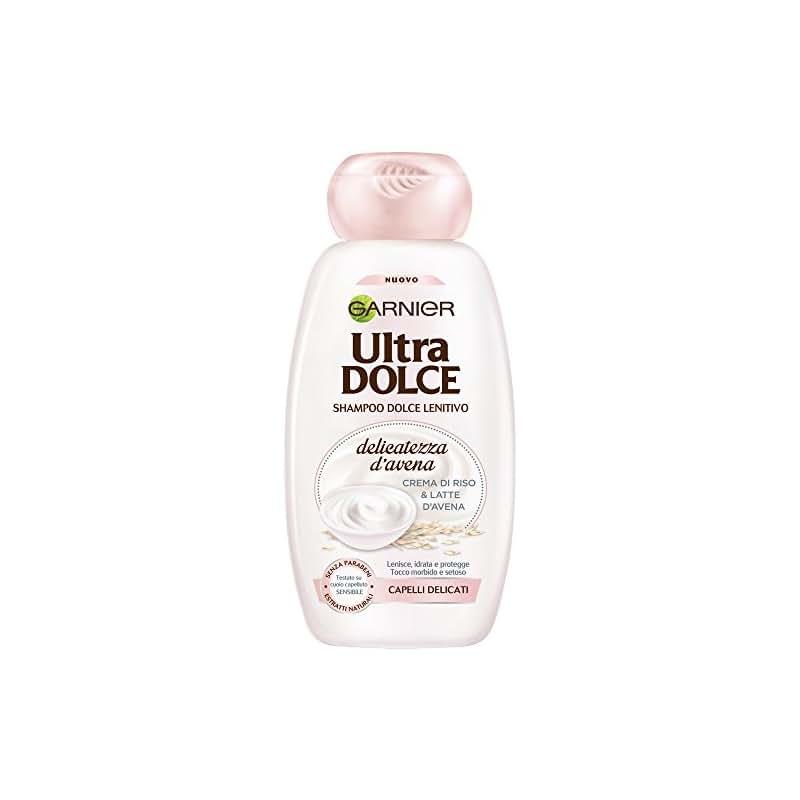 Garnier Ultra Dolce Delicatezza d'Avena Shampoo per Capelli Delicati