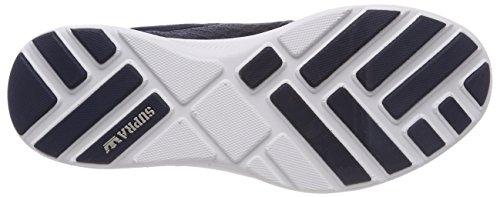 Supra Herren Hammer Run Sneaker Blau (NAVY/LT Grey-White)