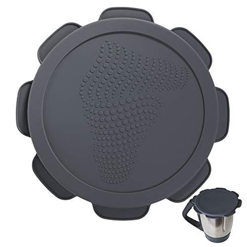 Silikon-Deckel für Vorwerk Thermomix TM5 TM6 Mixtopf. Wasser- und luftdichter Auslaufschutz. Mixcover das unverzichtbare Zubehör für ihre Küchen-maschine.
