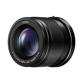Panasonic H-HS043E LUMIX G Objektiv 42.5 mm/F1.7 ASPH; optischer Bildstabilisator; Schwarz