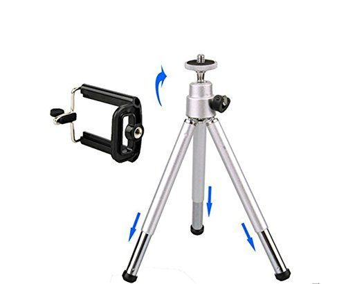 2pcs COMLYO Mini Tripod + Stand Holder Mobile Phone Holders for Mobile Cell Phone Camera Phone 4 4g 5 5G Samsung galaxy S4 i9200