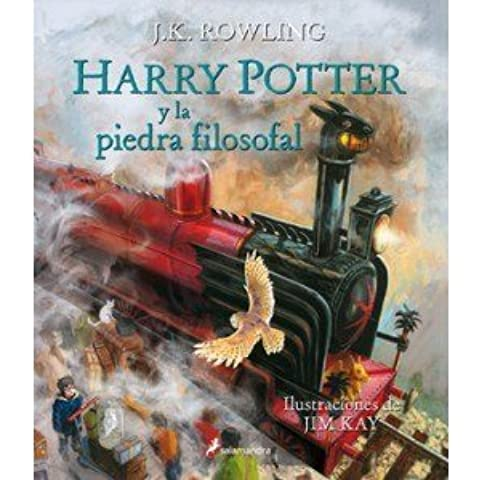 Harry Potter 01 La Piedra Ilustrado