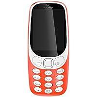 Nokia 3310 Téléphone Portable Débloqué GSM (Ecran: 2,4 pouces - Double Micro-SIM - Windows) Rouge