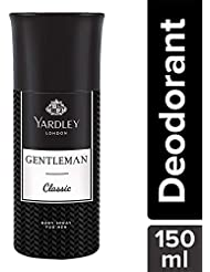 Yardley Londin Gentleman Classic Deo for Men, 150ml