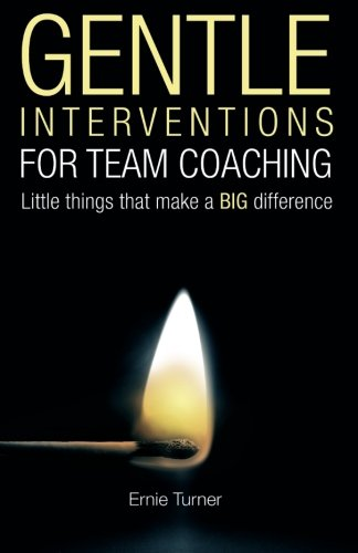 Gentle Interventions for Team Coaching: Little things that make a BIG difference