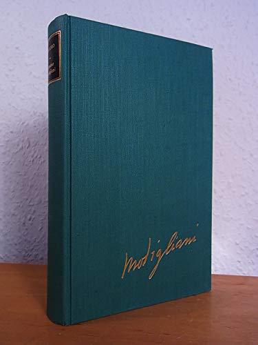 Amedeo Modigliani. Der Lebensroman des Künstlers
