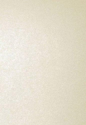 Papier A4 Pollen 120g perlmut elfenbein 50Bl