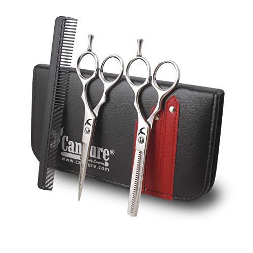 Professionell Haarscheren Effilierschere Modellierschere Friseur Scheren Set (6 Inch) -