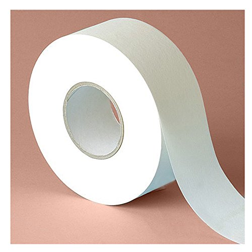 Kosmetex Vliesrolle für Wachs, 100 m x 7 cm, Vliesstreifen für die Haarentfernung mit Warmwachs und Zuckerpaste, 1 Rolle