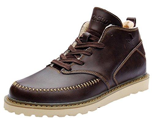 Insun , Herren Chukka Boots Coffee