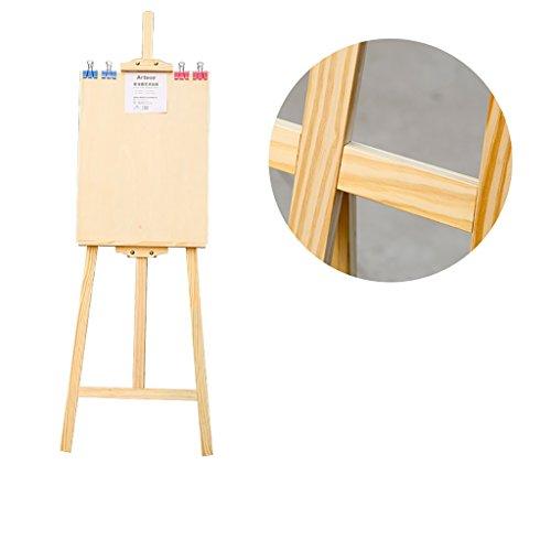 Staffeleien Gemälde Rahmen Staffelei Set 4k Malerei Skizze Zeichnung Board 1.45 Meter Stent Hölzerne Holz Staffelei staffelei Kinder (Farbe : B)