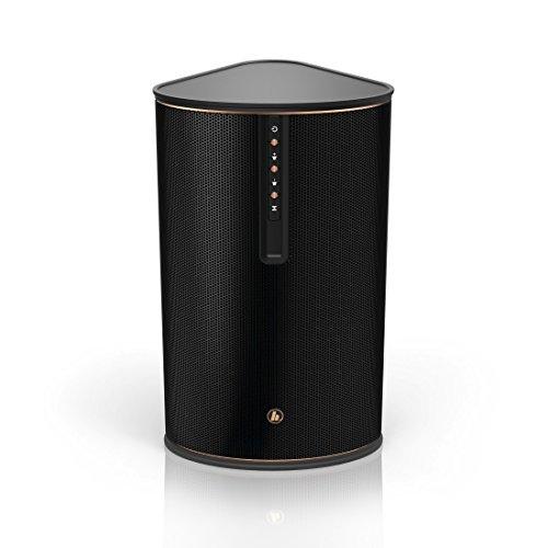Hama IR80MBT Multiroom-Lautsprecher (für Internetradio und kabelloses Musik-Streaming , Bluetooth, Spotify Connect, 30W RMS, WLAN Radio, Fernbedienung, gratis Undok App-Steuerung) schwarz