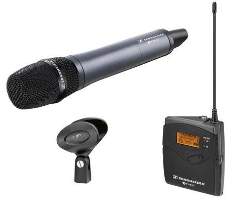Sennheiser ew 135-p G3 - Micrófono (80-18000 Hz, Inalámbrico)