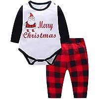 Bornbayb Frohe Weihnachten Pyjamas Set Santa Print Familie passende Kleidung Baby Kinder Mama Papa Xmas passende Outfits