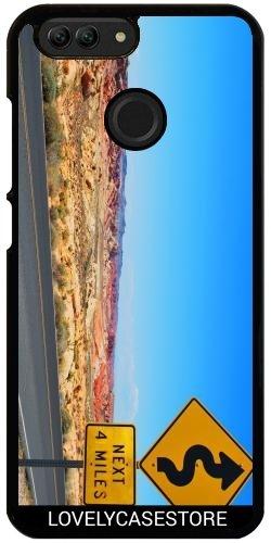 Hülle für Huawei Nova 2 - Straße USA USA Drehen Vereinigte Staaten Wüste Arid Sun Sky Blue