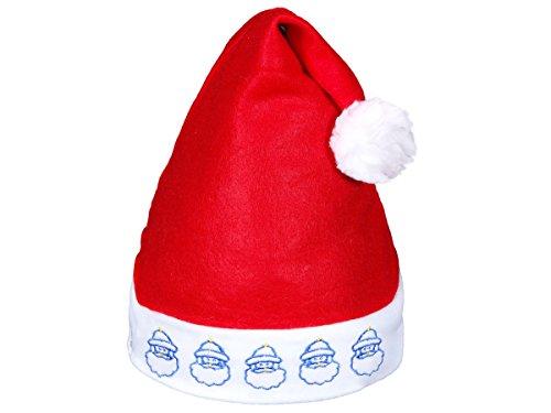 scegli genuino miglior sito nuovo design Cappello Babbo Natale con luci LED intermittente, vari ...