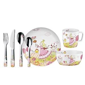 auerhahn princesse anneli 0605 0138 service de vaisselle pour enfant 7 pi ces. Black Bedroom Furniture Sets. Home Design Ideas