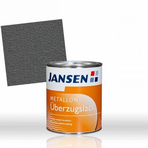Jansen Metallon DS 750ml Grundlack und Decklack Korrosionsschutzfarbe DB 703 mit Eisenglimmer (anthrazitgrau)