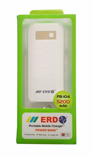 ERD SUPER POWER BANK 5200 mAh (Mobile Doctor)  available at amazon for Rs.799