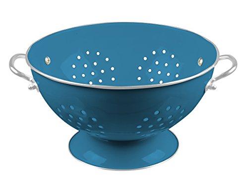 Beper home scola pasta, acciaio, blu, 27 x 23 x 12.5 cm, 12 unità