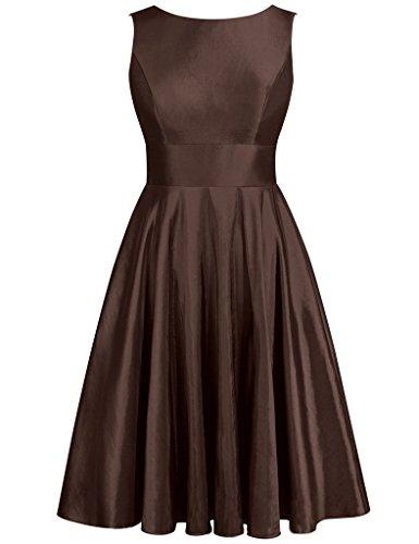 JAEDEN - Robe - Femme Marron - Chocolat
