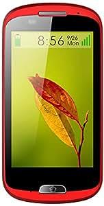 Haier E-ZY A6 Smartphone débloqué 3G (Ecran: 4 pouces - 4 Go - Simple SIM - Android 4.2 Jelly Bean) Rouge